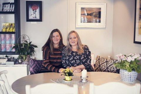 Lise og Elin Karbøl Bakkegård i Søstrene Suse sier lokalbefolkningen betyr alt, i en tid hvor koronapandemien sørga for stengte dører.