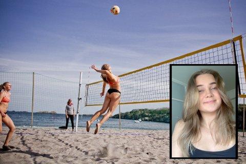 Marte Iversen Grytøyr (19) fra Bodø er tatt ut på landslaget i sandvolleyball, jenter U20.