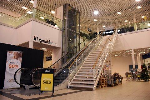 Det er i andre etasje på Fauske Handelspark at den nye butikken åpner, mest sannsynlig i slutten av oktober. Foto: Christian A. Unosen