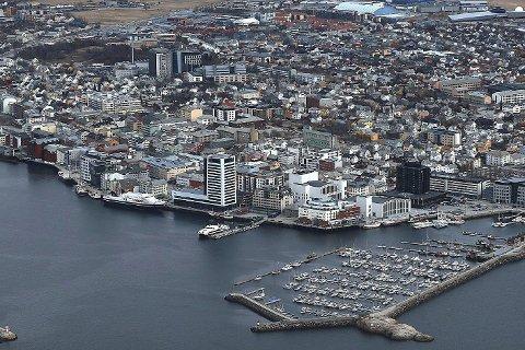 Vekstmotor: Bodø er fortsatt den viktigste vekstmotoren i Salten og Nordland, mens både Narvik, Mo og en rekke mindre kommuner spås befolkningsnedgang fram mot 2050 av Statistisk sentralbyrå.