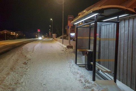 Det skal komme en ny busstrase mellom Hågøsen og Oddan på Tverlandet.