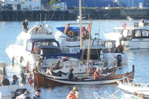 Musikkfestukas åpningskonsert trakk mange publikummere - i båter.