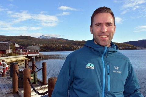Ny mulighet: Erik Jensen Liland (30) er klar til å ta fatt på en ny arbeidsoppgave, og arbeidsgiveren må sies å være en noe mer kjent aktør enn selskapet Jakobsbakken Mountain Resort som han til daglig jobber har en stor rolle i.