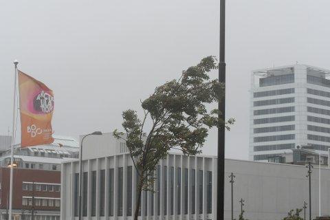 Mer regn, blant annet mer styrtregn, høyere temperatur, mindre snø, mer flom.  Nordland har fått mer nedbør, og våtere skal det bli.