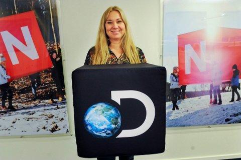 Slutter: Tine Austvoll Jensen slutter som toppsjef for Discovery Norge.
