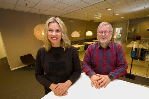 Seria AS. Markedssjef Benedicte Kilvær Eilertsen og daglig leder Nils Misvær.