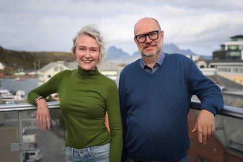 Kari Mette Skreslett og Martin Steinholt skal lede ei sending fra Nordland som skal gå nasjonalt.