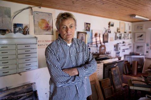 Den svenske kunstneren, forfatteren og tv-kjendisen Lars Lerin skal stille ut i Bodø kunstforening til sommeren. Han er en av to festivalkunstnere under Musikkfestuka.