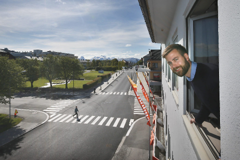 Jan Peter Haugen sier de gamle Bohus-lokalene skal bli hotell.