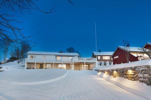Huset i Tverlandsveien ble solgt etter en forrykende budrunde tidligere i dag.