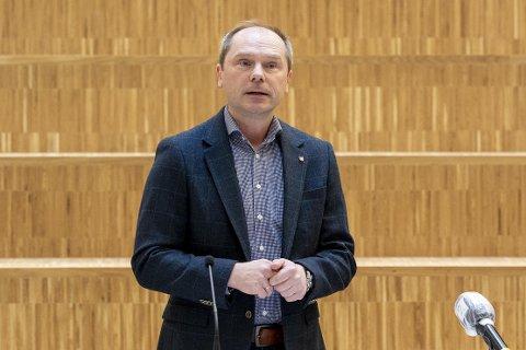 Kommunaldirektør Arne Myrland i helse- og omsorgsavdelingen i Bodø kommune.