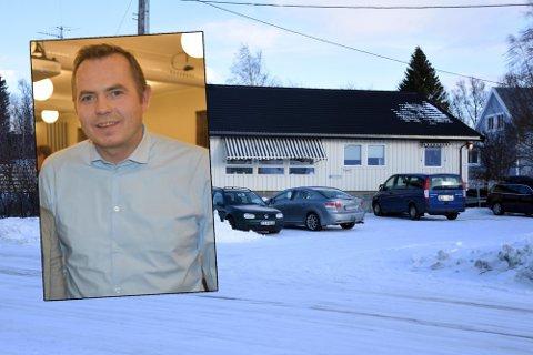 Leder for Fauske Arbeiderparti, Nils-Christian Steinbakk. Foto: Christian A. Unosen