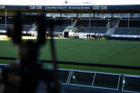 Søndag, når TIL kommer til Bodø, blir det 600 tilskuere tilstede på Aspmyra.