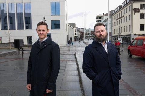 Invest in Nordland. Regional leder Fredrik Korpe og forretningsuvikler Simon Flack.