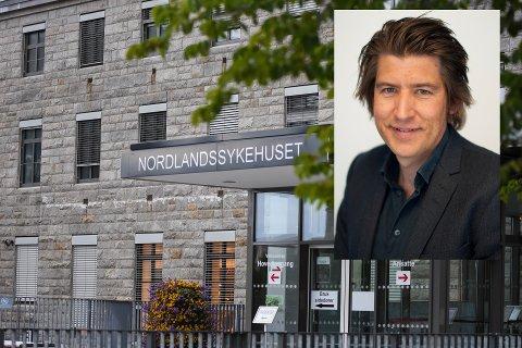 Få søkere: Kun tre stykker søkte på den utlyste direktørstillingen ved Nordlandssykehuset. Det får ansvarlig redaktør ved Dagens Medisin, Markus Moe til  reagere.