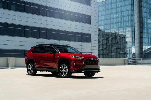 Toyota RAV4 topper salgslisten i Bodø og Fauske.