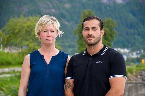 SNAKKER UT: Tanja Vedal og Martin Axa forteller deres side av hva som skjedde under samarbeidet med Vipay AS og Deel-appen. Saken har nå endt med to rettslige kjennelser i Vedal og Axas favør.