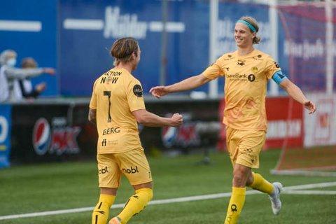 Ulrik Saltnes var involvert i alle de tre målene Glimt scoret mot Valur i Reykjavik. Torsdag er det returoppgjør på Aspmyra.