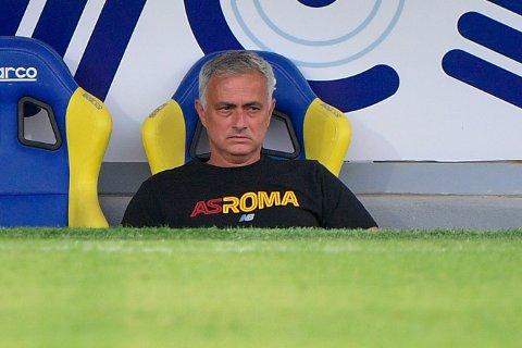 Jose Mourinho og hans Roma skal spille mot Bodø/Glimt i høst.