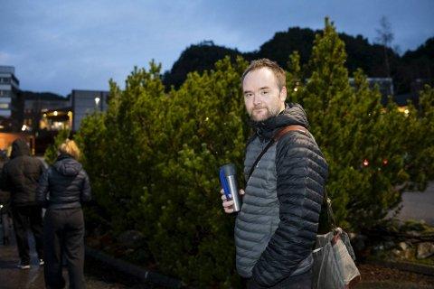 Professor i rettsvitenskap ved Universitet i Bergen, Eirik Holmøyvik. Han har også vært medlem av valglovutvalget som utformer ny valglov.