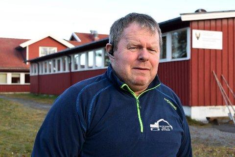 Ingen alternativer: – Avgjørelsen satt langt inne, men det var dessverre ingen alternativer, sier styreleder Øyvind Johansen om avgjørelsen som førte til stans i driften ved skolen.