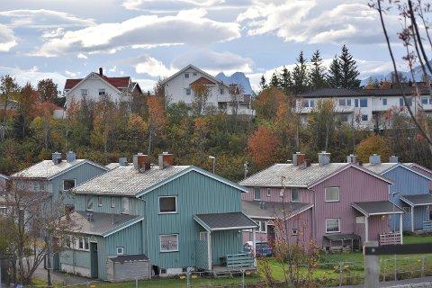 Forsvaret har cirka 140 boenheter i Bodø.