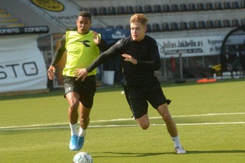Den unge tsjekkeren, her i kamp med Pernambuco, fikk et kort opphold i Bodø.