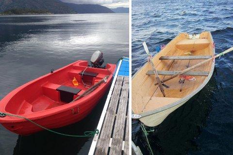 Dette er eksempler på båter, der HRS har hatt problemer med å spore opp eieren.