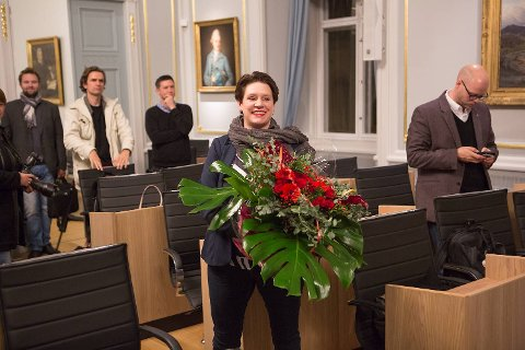 Marte Mjøs Persen blir Bergens nye ordfører når Arbeiderpartiet, Venstre og Kristelig Folkeparti danner byråd. – Jeg håper jeg kan være en ordfører for absolutt alle bergensere, sa hun på pressekonferansen onsdag kveld.