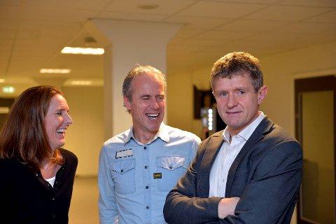 Daglig leder Vibeke Johannesen, sportssjef Rune Soltvedt og trener Lars Arne Nilsen blir nøkkelpersoner i Branns vei videre.