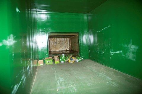Bosset suges under jorden til Birs terminaler. Her fra Jekteviken.