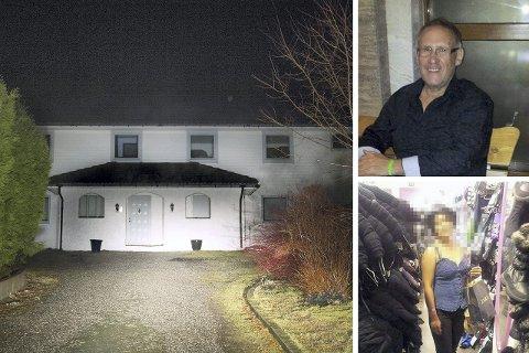 Drept: Politiet mener at Helge Irgens (61) ble myrdet med kaldt blod i parets daværende hjem i Telavåg i juni i fjor.  Nå ber  politiet om at enken (31) tiltales for overlagt drap.