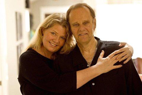 Walter Trout og hans danske kone og manager, Marie takker fansen for den fantastiske støtten.