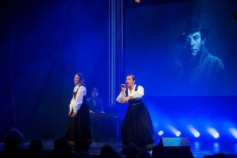 Ole Bull Scene feiret seg selv søndag kveld. Bergensrapperne «Helt privat» startet showet etter at humorkongen Finn Tokvam hadde åpnet festkvelden.