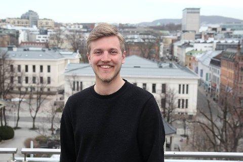 Jacob Mæhle, leder i Hordaland Unge Høyre.
