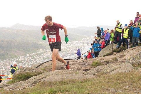 Ulriken opp Lørdag 23. Mai 2015  Konkurranseløpere Thorbjørn Ludvigsen