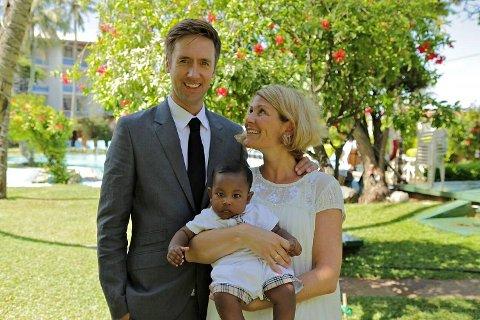 Dagen Kristin og Kristoffer overtok Markus på Sri Lanka. Foto: Håvard Jensen for Mastiff/TVNorge