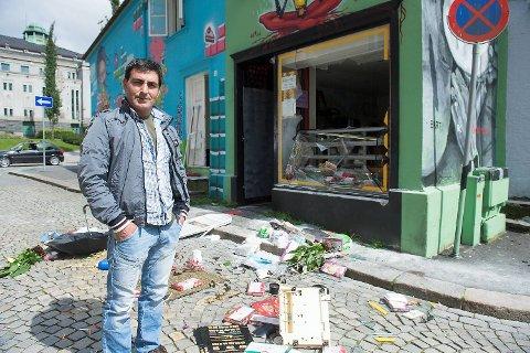 Kvinne gikk amok i butikk i Sverresgate
