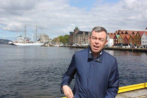 Byråd Henning Warloe.