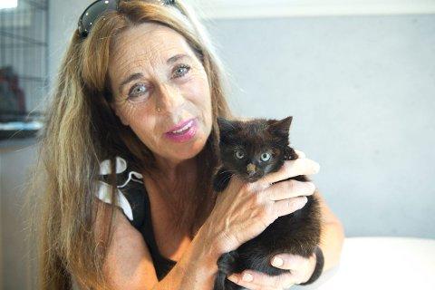 Inger Johanne Graff sier mange sikkert mener det vel når de tar med seg en katt de finner, men de lager ofte problemer.