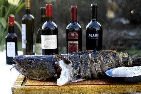 Torsk er en fantastisk råvare - enten den kommer fra vinterens skreifiske i Lofoten eller fra kysten vår. Du kan finne både røde og hvite viner som passer til dette festmåltidet.