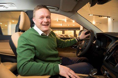 Trond E. Haugland, salgskonsulent hos bilforhandleren Frydenbø.