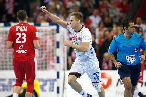 Espen Lie Hansen og Norge skapte sensasjon med seier over EM-vert Polen lørdag.