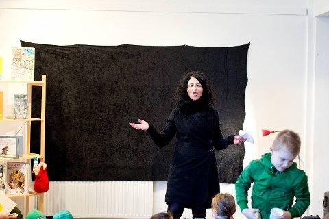 Ann Kristin Ramstrøm i Initiativ:Laksevåg. Her fra et bokarrangement for barn for to år siden.
