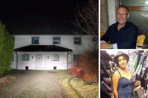 Statsadvokaten mener at Helge Irgens (61) ble myrdet med kaldt blod i parets daværende hjem i Telavåg i juni i 2014.  Nå er Rubyrosa Verano Irgens (31) tiltalt for overlagt drap.