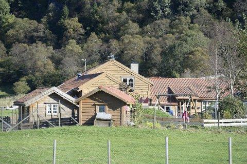 Ulykken skjedde i Gardstunet barnehage i Fjell kommune.