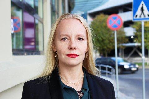 Julie-Isabell Løvdal, hovedtillitsvalgt i Norsk Lokomotivmannsforbund.