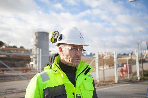 Ole Anders Skauby, mediekontakt i Statoil.