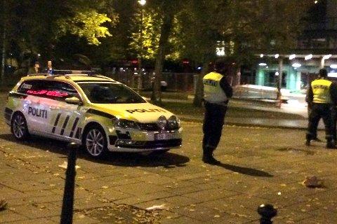 Politiet hadde det travelt natt til søndag. Fyll, vold, ruskjøring og seksuell trakassering.