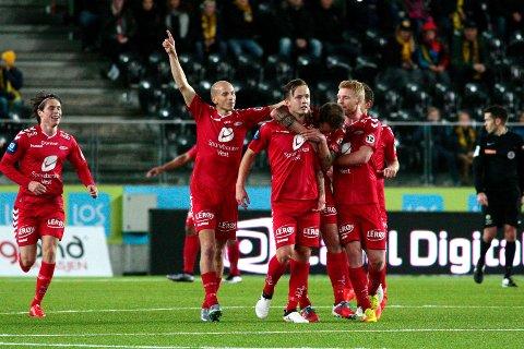 I 2. omgang sikret Fredrik Haugen og Erik Huseklepp hvert sitt drømmemål.